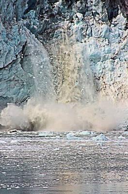 Photograph - Calving Glacier Margerie by Kristin Elmquist