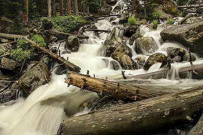 Photograph - Calypso Cascades by Lee Kirchhevel