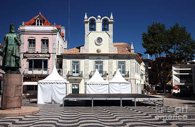 Photograph - Camara Municipal De Cascais by John Rizzuto