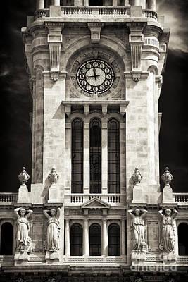 Camara Municipal Do Porto Art Print