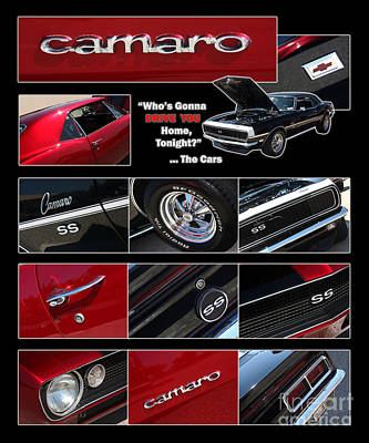 Camaro-drive - Poster Art Print by Gary Gingrich Galleries