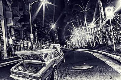 Camaro On Lewers St.blueprint Original