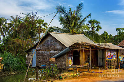 Photograph - Cambodia Store by Rick Bragan