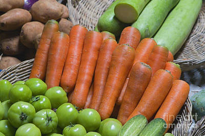 Photograph - Cambodian Carrots by Craig Lovell