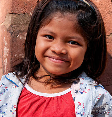 Photograph - Cambodian Girl 03 by Rick Piper Photography