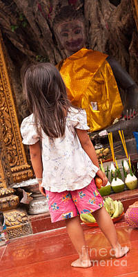 Photograph - Cambodian Girl 04 by Rick Piper Photography