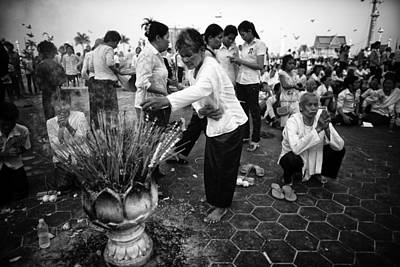 Cambodian Mourns Art Print