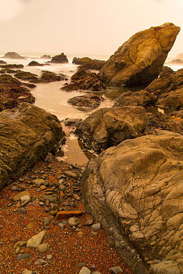Photograph - Slipping Through.....  Cambria by Tim Bryan