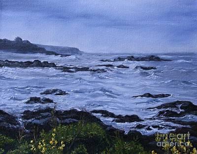 Cambria's Coastal Rain Original by Sheri Stimson