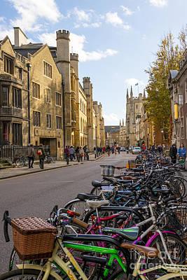 College Avenue Photograph - Cambridge by Svetlana Sewell