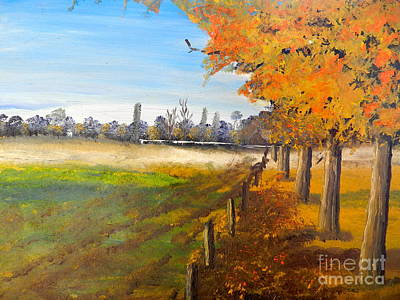 Camden Farm Art Print