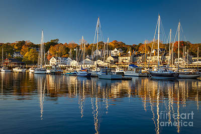 Photograph - Camden Harbor by Brian Jannsen