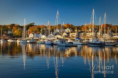 Photograph - Camden Harbor by Brian Jannsen