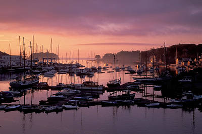 Photograph - Camden Harbor by Jim Dollar