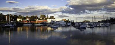 Maine Landscape Photograph - Camden Harbor Maine by Susan  Degginger