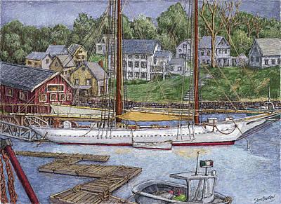 Camden Maine Art Print