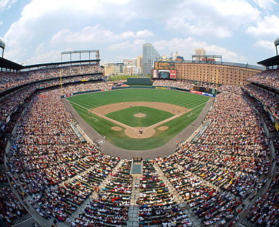 Ballpark Photograph - Camden Yards Baltimore Md by Panoramic Images
