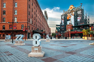 Photograph - Camden Yards by Chuck Robinson