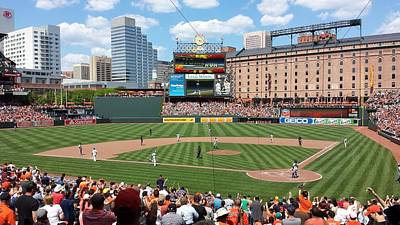 National Past Time Photograph - Camden Yards by Ross Ansel