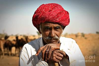 Camel Herder India Print by Henry Kowalski