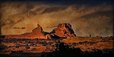 Camelback Canyon Lands Art Print by Robert Albrecht