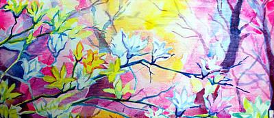 Camellia Branches Original
