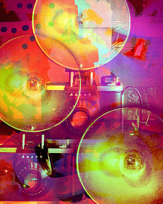 Ansco Digital Art - Camera Art 2 by Susan Stone