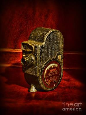 Camera - Bell And Howell Film Camera Art Print by Paul Ward