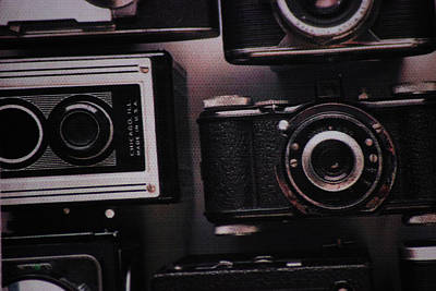 Gear Photograph - Camera Click by Martin Newman