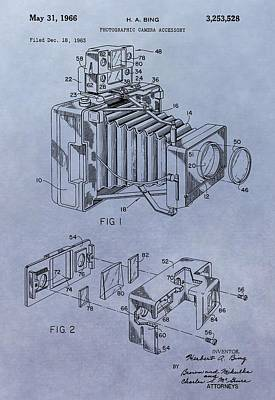 Nikon Digital Art - Camera Patent by Dan Sproul
