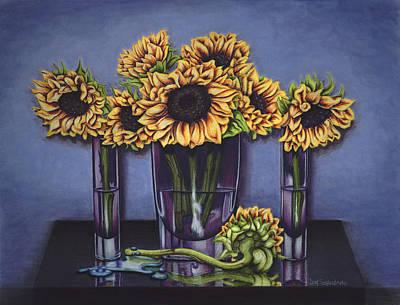 Painting - Camera Shy by Lori Sutherland
