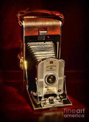 Polaroid Camera Photograph - Camera - Vintage Polaroid Land Camera Model 95 by Paul Ward
