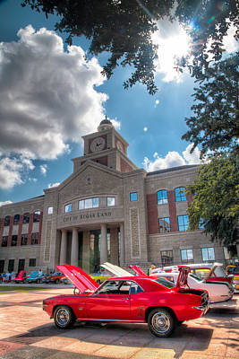 Car Images Photograph - Camero In The Courtyard by Tim Stanley