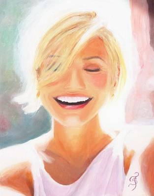 Painting - Cameron Diaz by Shirl Theis