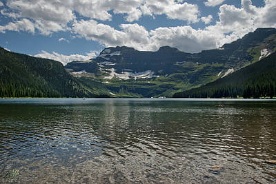 Photograph - Cameron Lake by Kenneth Hadlock