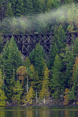 Photograph - Cameron Trestle by Randy Hall