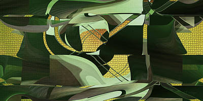 Digital Art - Camo - As In Camouflage by rd Erickson