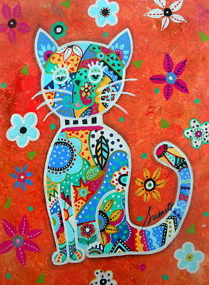 Painting - Camo El Gato by Pristine Cartera Turkus