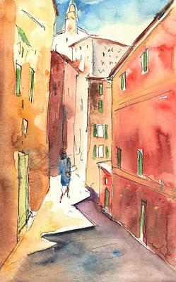 Camogli In Italy 03 Art Print