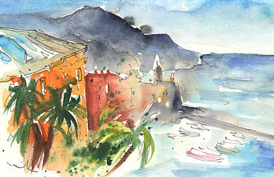 Painting - Camogli In Italy 10 by Miki De Goodaboom