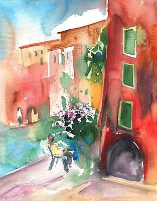 Camogli In Italy 12 Art Print