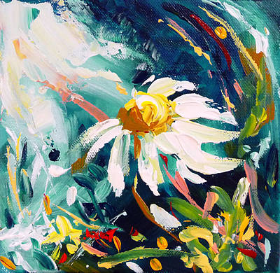 Painting - Camomile by Mikko Tyllinen