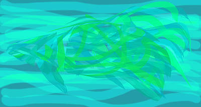 Digital Art - Camouflage Fish by Stephanie Grant