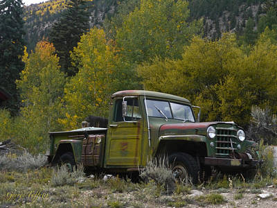 Photograph - Camouflage Truck by George Tuffy
