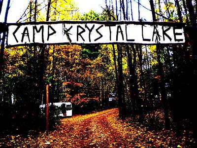 Camp Crystal Lake Art Print by James Ryan