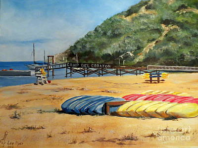 Painting - Camp Del Corazon  by Lee Piper