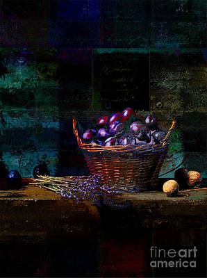Photograph - Campagnard - Rustic Still Life - S02bd by Variance Collections