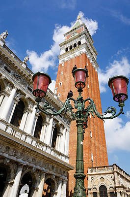 St. Marks Square Photograph - Campanile San Marco (st by Russ Bishop