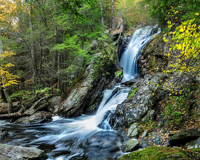 Photograph - Campbell Falls - Power And Beauty by Expressive Landscapes Fine Art Photography by Thom