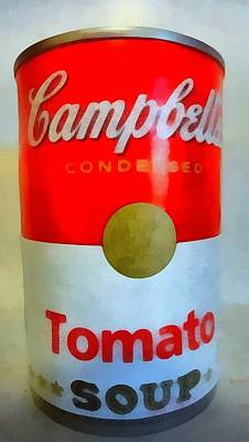 Campbell Soup Can Art Print